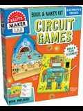 Circuit Games [With AA Battery Holder, 2 Blue Leds, 3 White Leds, Wire]