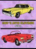 1960's Auto Oldtimer Malbuch: Volume 2