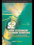 52 New Testament Sermon Starters Book Three, Volume 3