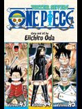 One Piece (Omnibus Edition), Vol. 15, Volume 15: Includes Vols. 43, 44 & 45