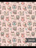 Wochenplaner 2019: Terminplaner & Wochenkalender: 19 X 23 CM: S