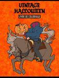 Vintage Halloween Livre de Coloriage