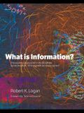 What is Information?: Propagating Organization in the Biosphere, Symbolosphere, Technosphere and Econosphere