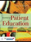 Essentials of Patient Education [With Access Code] [With Access Code]