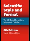 Scientific Style and Format: The CSE Manual for Authors, Editors, and Publishers