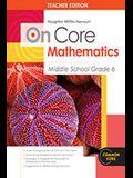 Houghton Mifflin Harcourt on Core Mathematics: Teacher's Guide Grade 6 2012