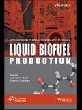 Liquid Biofuel Production