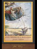 Five Weeks in a Balloon (Illustrated First Edition): 100th Anniversary Collection