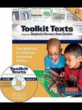 Toolkit Texts: Grades Prek-1: Short Nonfiction for Guided and Independent Practice [With CDROM]