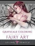 Fairy Art - Grayscale Coloring Edition