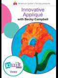 Innovative AppliquÞ - Complete Iquilt Class on DVD