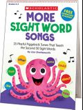 More Sight Word Songs Flip Chart: 25 Playful Piggyback Songs That Teach the Second 50 Sight Words