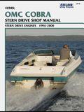 OMC Cobra Stern Drive Shop Manual 1994-2000