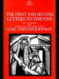 The First and Second Letters to Timothy: Volume 35A