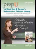 Prepu for Ricci, Kyle, & Carman's Maternity and Pediatric Nursing