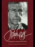 John Cage: Writer: Previously Uncollected Pieces