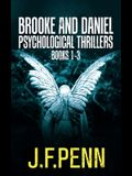 Brooke and Daniel Psychological Thrillers Books 1-3: Desecration, Delirium, Deviance