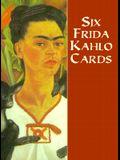 Six Frida Kahlo Cards