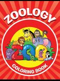Zoology Coloring Book: Animals