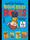 Roscoe Riley Rules 4 Books in 1!: Never Glue Your Friends to Chairs; Never Swipe a Bully's Bear; Don't Swap Your Sweater for a Dog; Never Swim in Appl