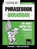English-Ukrainian phrasebook and 1500-word dictionary