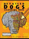 Detailed Dogs: Colouring Book