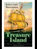 Treasure Island (Illustrated Edition): Adventure Tale of Buccaneers and Buried Gold
