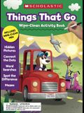 Things That Go Wipe-Clean Activity Book