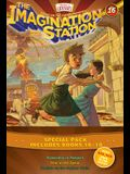 Imagination Station Books 3-Pack: Doomsday in Pompeii / In Fear of the Spear / Trouble on the Orphan Train