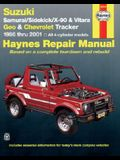Suzuki Samurai/Sidekick/X-90 & Vitara, Geo & Chevrolet Tracker 1986 Thru 2001: 1986 Thru 2001: All 4-Cylinder Models