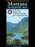 Montana Recreation Map