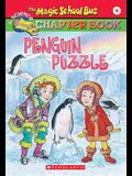 Penguin Puzzle (Magic School Bus Chapter Books #8)