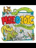 Maze-O-Zoic: 50 Dinosaur Mazes