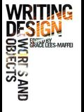 Writing Design: Words and Objects