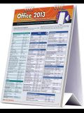 Microsoft Office 2013 Desktop Easel Book: A Quickstudy Reference Tool for Excel, Word, & PowerPoint Including Quickkey Shortcuts