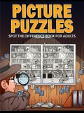 Picture Puzzles: Spot the Difference Book for Adults