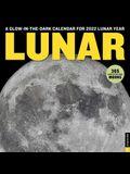 Lunar 2022 Wall Calendar: A Glow-In-The-Dark Calendar for 2022 Lunar Year