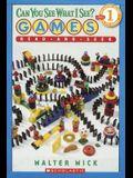 Games: Read-And-Seek (Turtleback School & Library Binding Edition) (Scholastic Reader: Level 1)