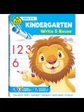 School Zone Kindergarten Write & Reuse Workbook