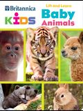 Britannica Kids: Lift and Learn: Baby Animals