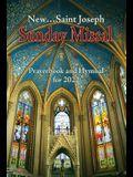 St. Joseph Sunday Missal Prayerbook and Hymnal for 2022 (American)