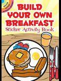 Build Your Own Breakfast Sticker Activity Book