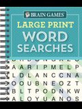 Brain Games - Large Print Word Searches (Teal)
