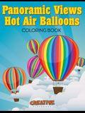 Panoramic Views Hot Air Balloons Coloring Book