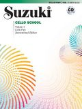 Suzuki Cello School, Vol 1: Cello Part, Book & CD [With CD]