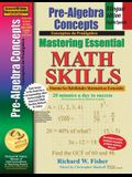 Pre-Algebra Concepts: Bilingual Edition - English/Spanish: Mastering Essential Math Skills
