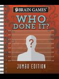 Brain Games - Who Done It?: Jumbo Edition