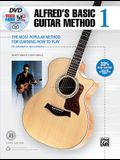 Alfred's Basic Guitar Method, Bk 1: The Most Popular Method for Learning How to Play, Book & Online Video/Audio/Software
