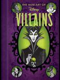 Disney: The Mini Art of Disney Villains Disney Villains Art Book