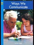 Ways We Communicate (Social Studies)